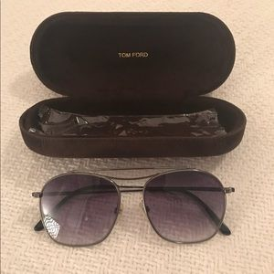 Tom Ford Alessandro Silver Sunglasses